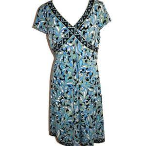 Tahari Short Sleeve Dress